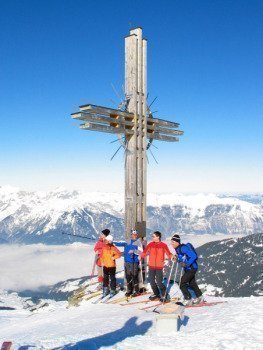 Gipfelkreuz Gilfert