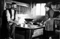Alte Rauchküche um 1940