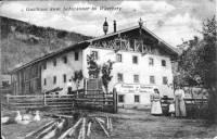 Gasthof Schwanner um 1900